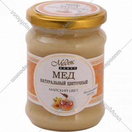 Мед натуральный «Медок» майский цвет, 350 г.