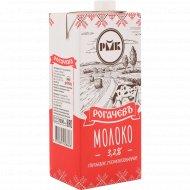 Молоко питьевое «Рогачевъ» 3.2%, стерилизованное, 1000 мл.