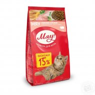 Сухой корм для кошек «Мяу» кролик, 2 кг.