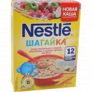Каша «Nestle» с кусочками земляники, яблока и малины, 200 г.
