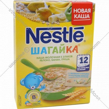 Каша «Nestle» с кусочками яблока, банана и грушей, 200 г.