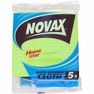 Салфетки «Novax» целлюлозные, 5 шт.