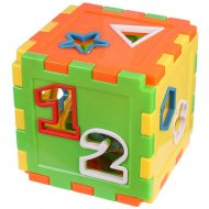 Кубик-сортер «Darvish» 12.5х12.5 см.