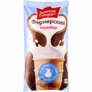 Мороженое пломбир «Фермерский» с фермерским молоком, 15%, 90 г.