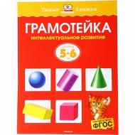 Книга «Грамотейка» интеллектуальное развитие детей 5-6 лет.
