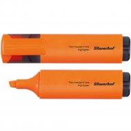 Текстовыделитель «Silwerhof» оранжевый.