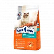 Сухой корм для стерилизованных кошек «Club 4 Paws» премиум, 2 кг.
