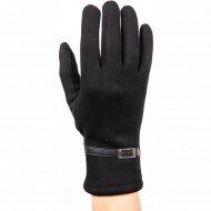 Перчатки трикотажные женские «МВВ» 404/12, черные.