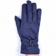 Перчатки женские «МВВ» темно-синие.