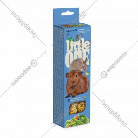Палочки «Little One» для морских свинок, кроликов и шиншилл, овощи.