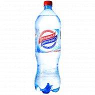 Вода питьевая «Славная» газированная 1.5 л.