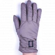 Перчатки женские «МВВ» бежевые.