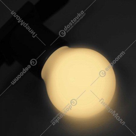 Декоративная лампа «Neon-Night» Е27, 5 LED, 45 мм, теплый белый.