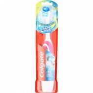 Зубная щетка «Colgate» электрическая, средняя жесткость.