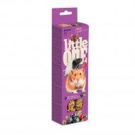 Палочки для грызунов «Little One» ягоды, 2х60 г.