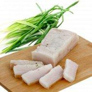 Шпик свиной, хребтовый, соленый, охлажденный, 1 кг., фасовка 0.4-0.5 кг