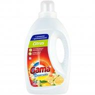 Гель для стирки «Gama» Sensations Citrus, 1.2 л