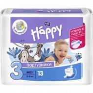 Подгузники для детей «Bella Baby Happy» midi 5-9 кг, 13 шт.