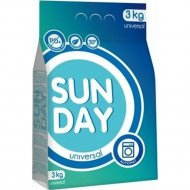 Порошок стиральный «Sunday» универсал, 3 кг.