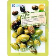Тканевая маска «FoodaHolic» olive, 23 г.
