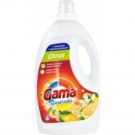 Гель для стирки «Gama» Sensations Citrus, 2.2 л