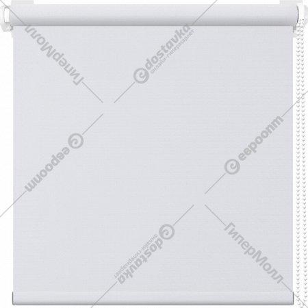 Рулонная штора «АС Март» Сильвия, белый, 85х175 см
