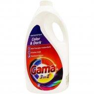 Гель для стирки «Gama» Color & Dark, 5 л