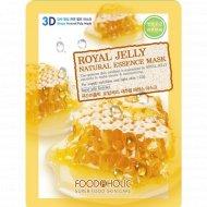 Тканевая маска «FoodaHolic» royal jelly, 23 г.