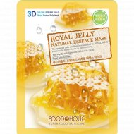 Тканевая маска «FoodaHolic» royal jelly, 23 г.