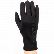 Перчатки трикотажные женские «МВВ» 404/13, черные.