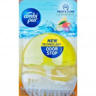 Блок подвесной для унитаза «Ambi pur» 5в1, Лимон и мандарин, 55 мл