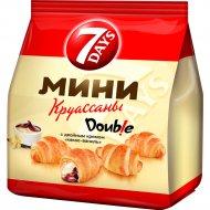 Мини круассаны «7 Days» с двойным кремом «какао-ваниль» 200 г