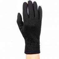 Перчатки трикотажные женские «МВВ» 404/6, черные.