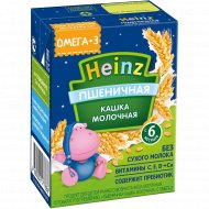 Каша молочная «Heinz» пшеничная, 200 мл.