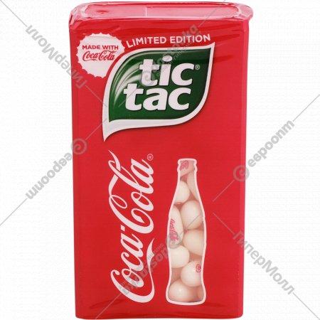 Драже «Tic Tak» Coca-Cola.