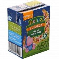 Каша молочная «Heinz» 5 злаков, 200 мл.