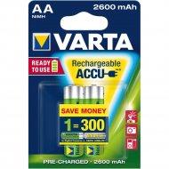 Аккумулятор «Varta» ACCU R2U AA 2600mAh BLI 2.