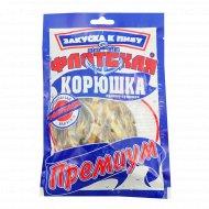 Корюшка «Флотская» премиум солёно-сушёная 40 г.