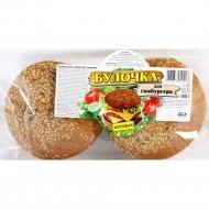 Булочка для гамбургера зерновая 180 г.