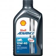 Масло моторное «Shell» Advance 4T Ultra, 10W-40 SN/MA2, 550053785, 1 л