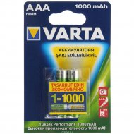 Аккумулятор «Varta» ACCU R2U AAA 1000mAh BLI 2 NON-EU TR/CYR.