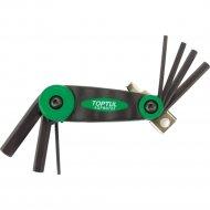 Набор длинных ключей складной «Toptul» AGFB0703, 2.5-10 мм.