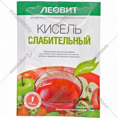 Кисель «Леовит» слабительный со злаками, 20 г.