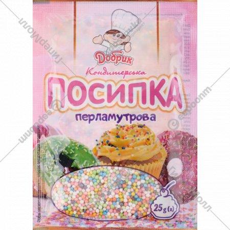 Посыпка кондитерская «Добрик» 25 г.