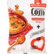 Соль йодированная «Золотой Зубр» Полесье, 1 кг.