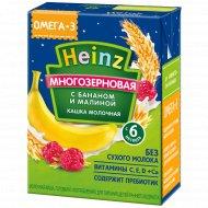 Каша молочная «Heinz» банан, малина, 200 г.