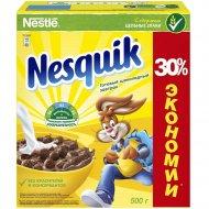Готовый завтрак «Nesquik» шоколадные шарики 500 г.
