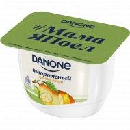 Продукт творожный «Danone» с грушей и бананом 3.6%, 170 г.