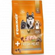 Корм для собак «Fokker» Fresh meat, беззерновой с цыпленком, 2.5 кг.