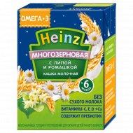 Каша молочная «Heinz» липа, ромашка, 200 г.